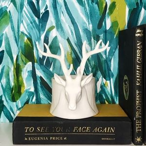 Other - White Buck Candle Holder